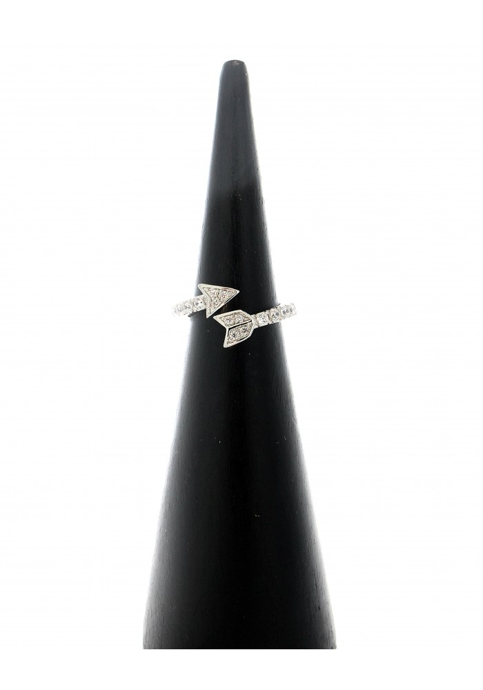 Cz Pave Arrow Ring